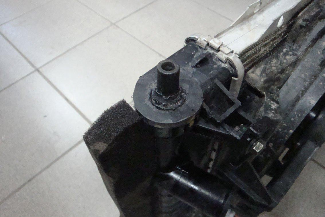 отремонтированные радиатор