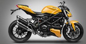 желтый мотоцикл
