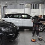 машины на кузовном ремонте