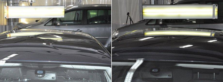 крыша до и после