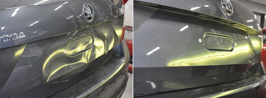 кузовной ремонт автомобиля шкода
