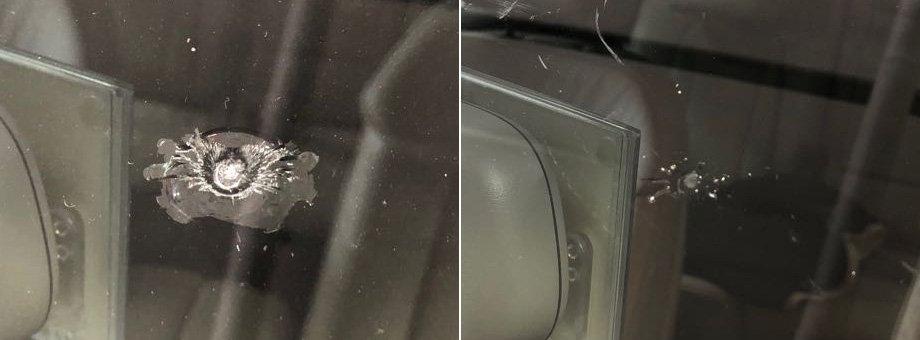 ремонт сколов стекла