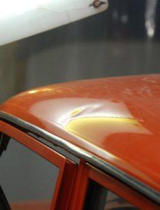 ваз оранжевый крыша