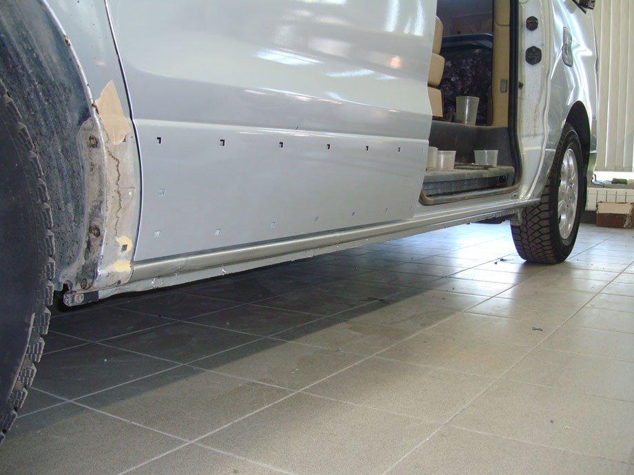 ремонт порогов у автомобиля хендай