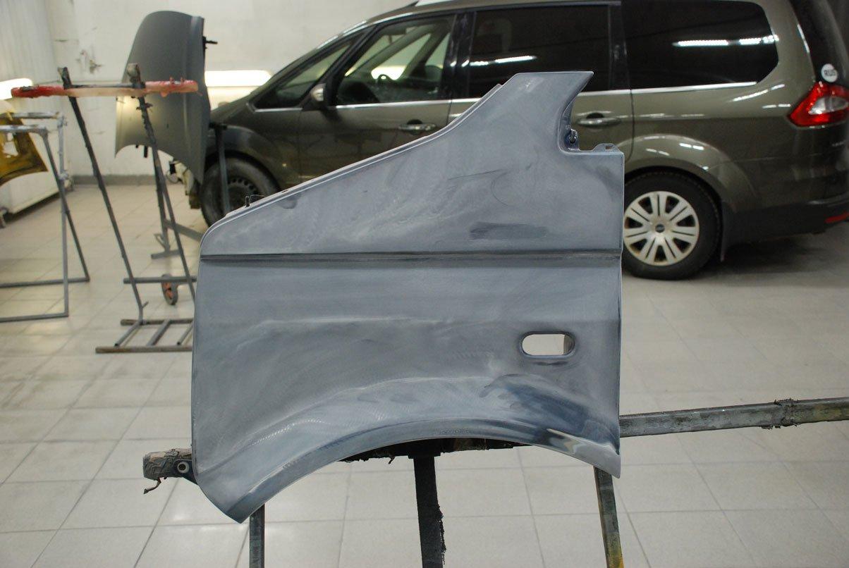 переднее крыло подготовка к покраске