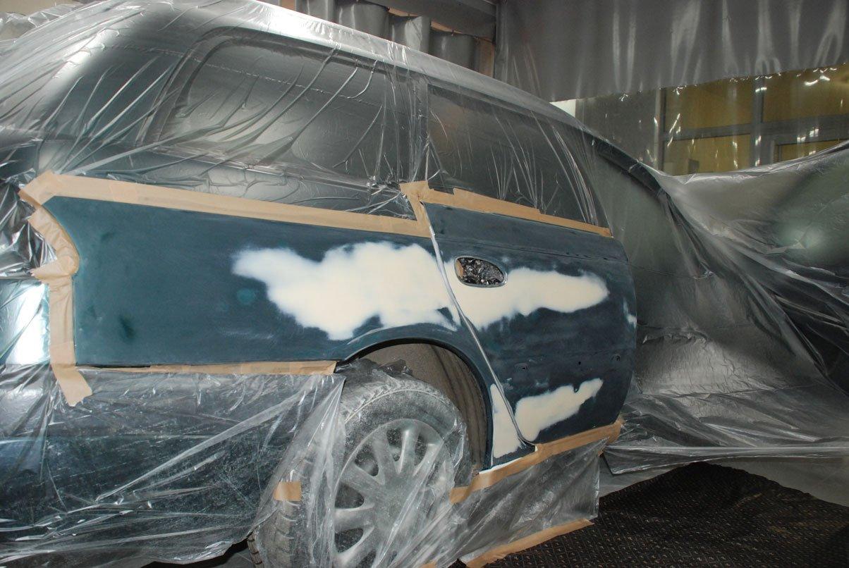 заклейка машины для последующей покраски