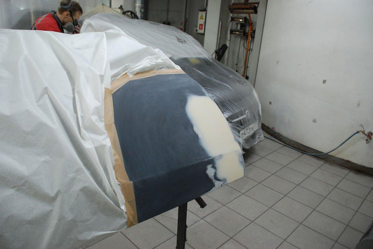 снятая деталь машиня для покраски