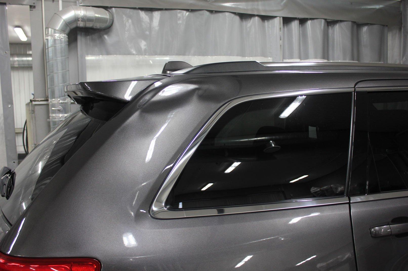 вмятина на арке машины