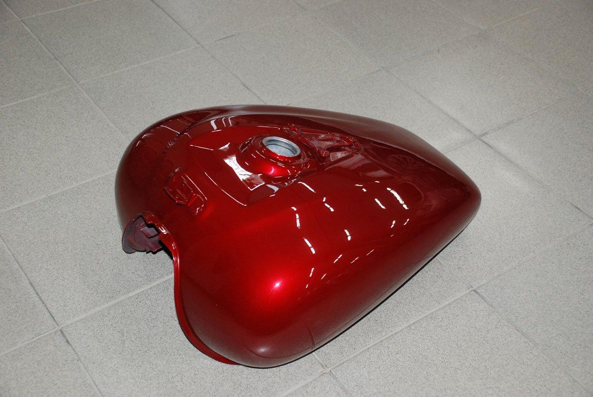 крышка бензинового бака от мотоцикла