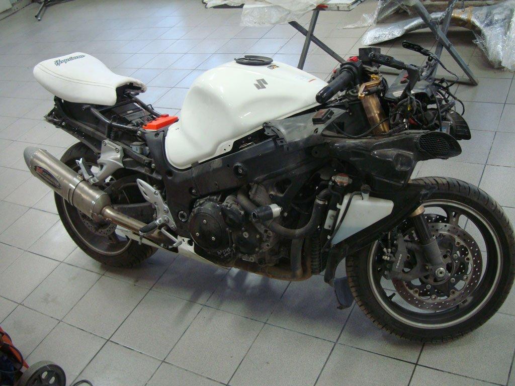 мотоцикл без пластика