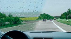 услуга антидождь для авто - фото до и после