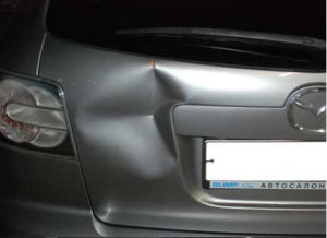 ремонт багажника мазда