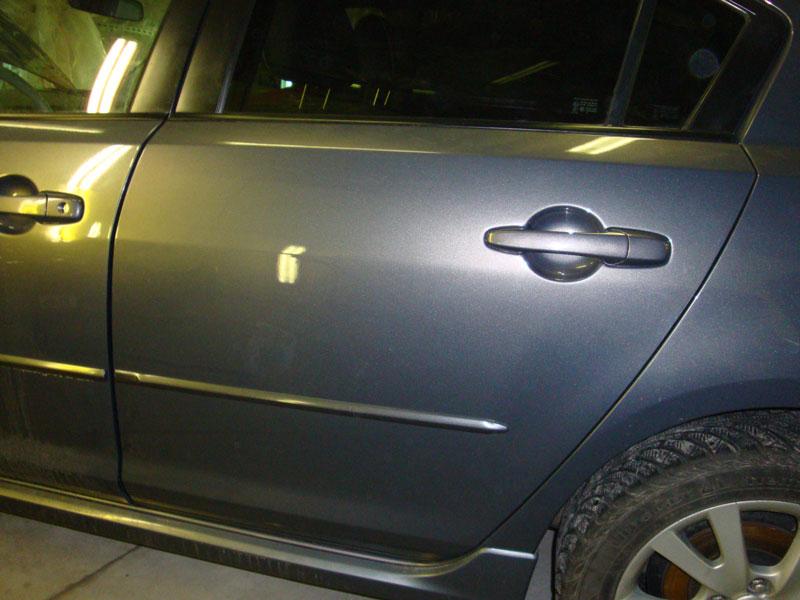 автомобиль после кузовного ремонта