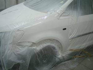 покраска крыла Фольксваген (Volkswagen) кадди