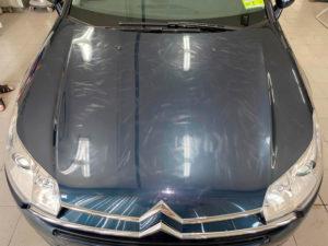 восстановление лакокрасочного покрытия автомобиля ситроен