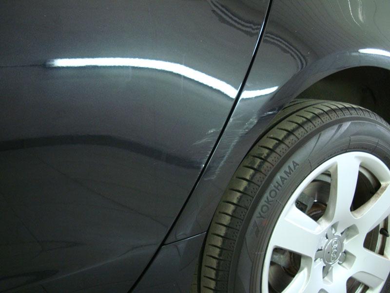 Покраска крыла автомобиля фото 3