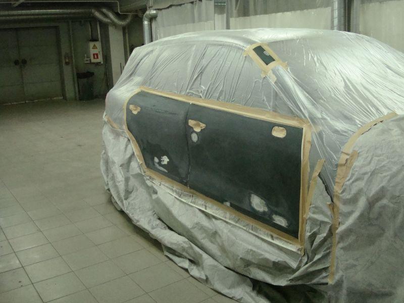 Кузовной ремонт Порше Кайен (Porsche Cayenne)