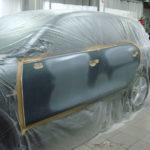 Porsche-Cayenne-ремонт и покраска двери
