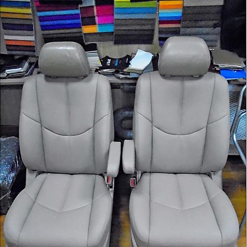 сидения авто после перетяжки