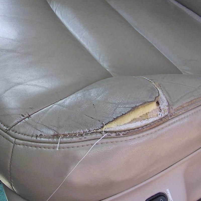 сиденье до перетяжки