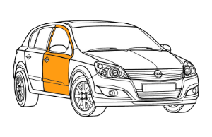 Ремонт дверей Опель (Opel)