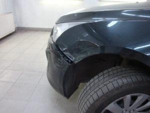 бампер шевроле круз до ремонта