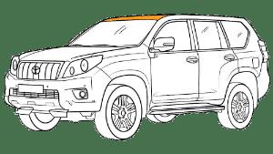 Ремонт крыши Тойота (Toyota)