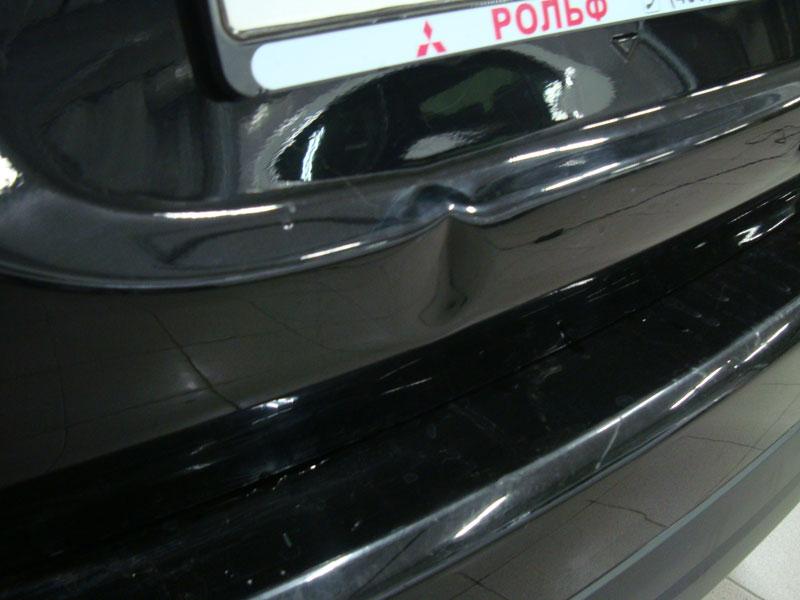 Ремонт крышки багажника Мицубиси