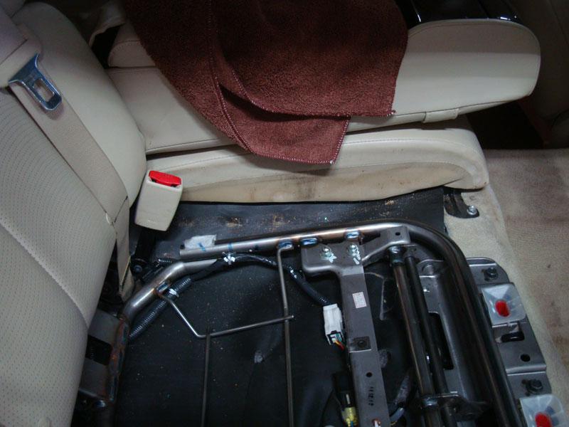 грязь на сидениях