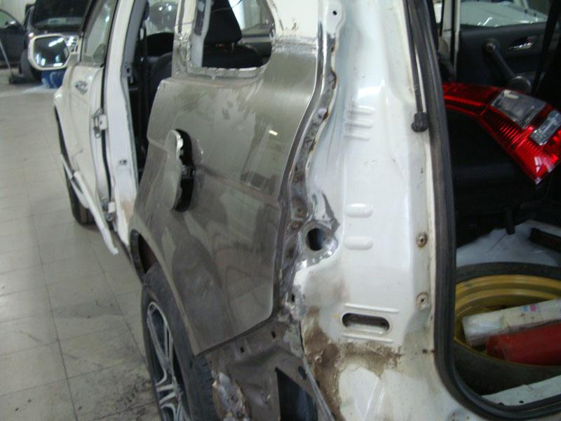 замена двери хонда