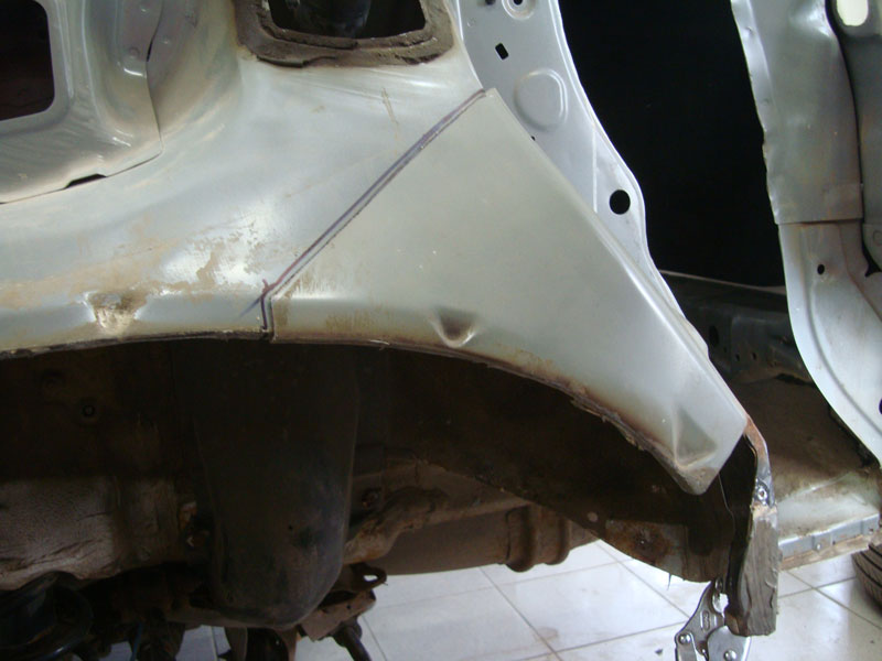 повреждения арки хонда