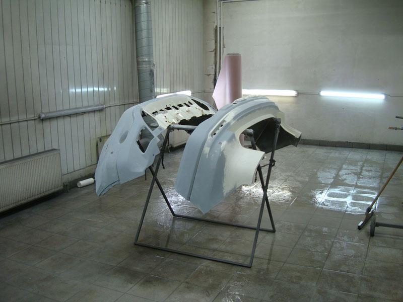 рихтовка бампера хонда