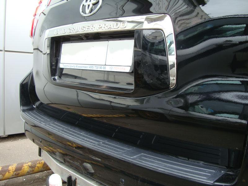 Удаление вмятины автомобиля Ленд Крузер Прадо (Land Cruiser Prado) фото 1
