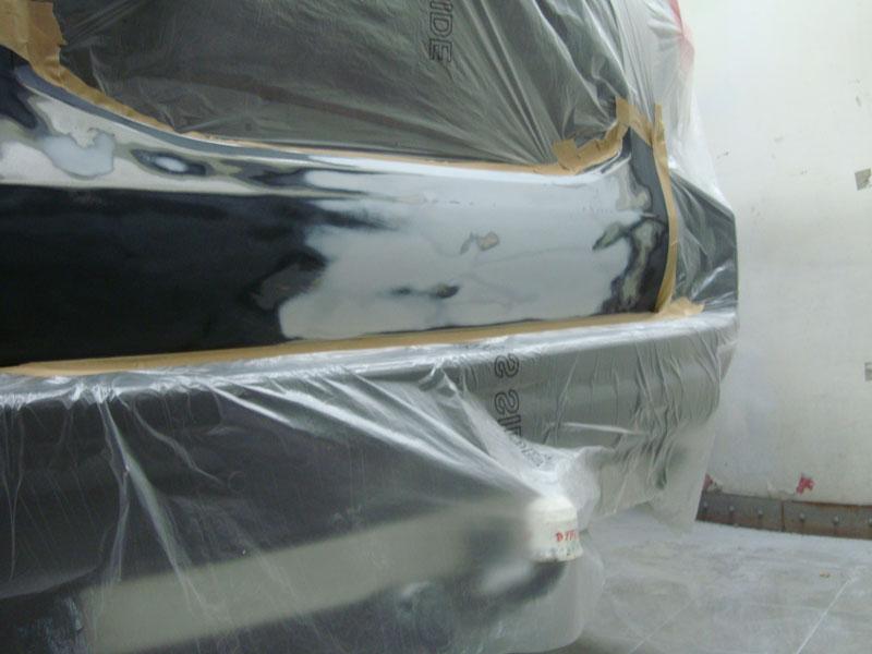 Удаление вмятины автомобиля Ленд Крузер Прадо (Land Cruiser Prado)