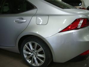 автомобиль лексус после ремонта крыла