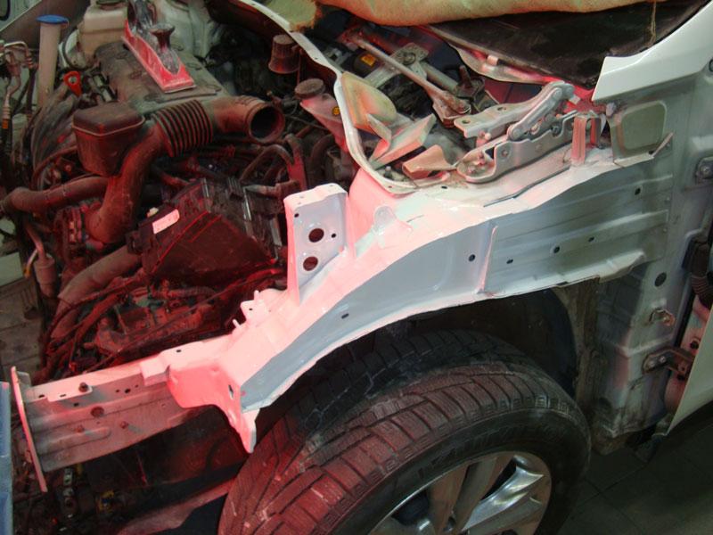кузовной ремонт автомобиля хендай