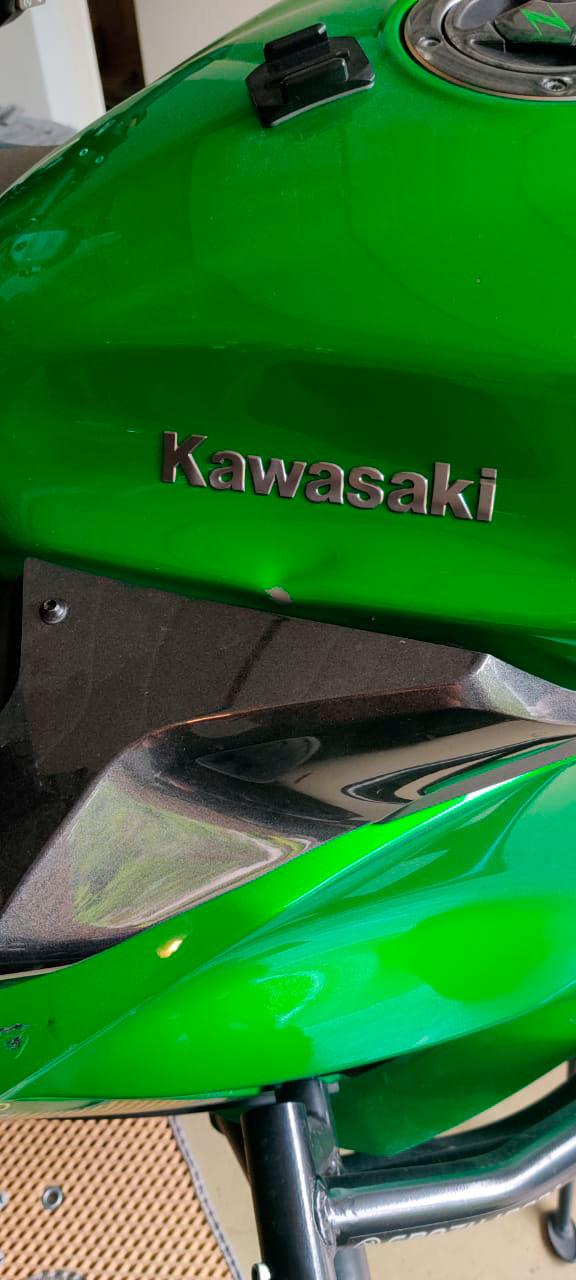 ремонт бака кавасаки