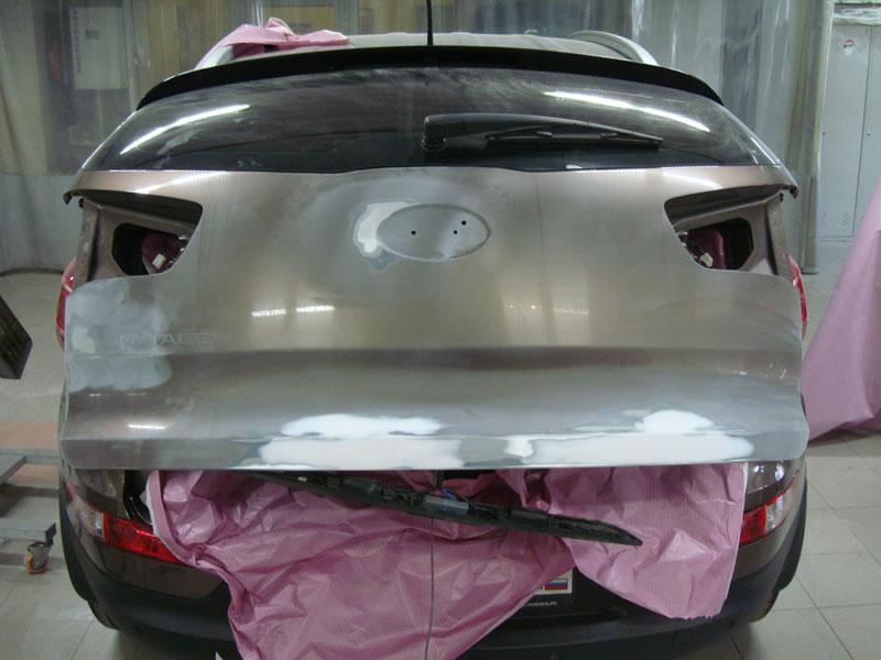 ремонт крышки багажника хендай
