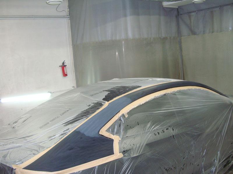 ремонт крышки багажника тойота