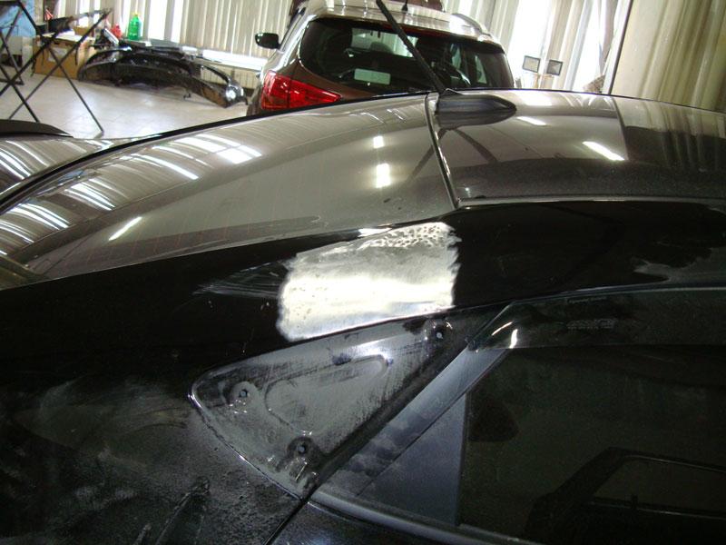 ремонт крышки багажника тойоты