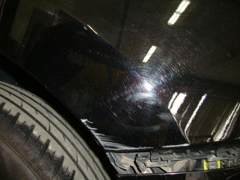 повреждение кузова тойота королла