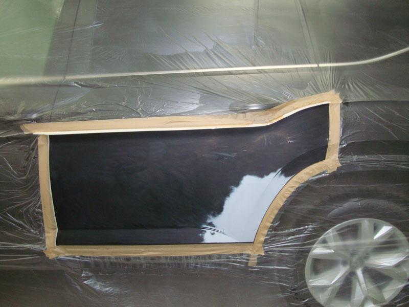 подготовка двери фольксваген к покраске
