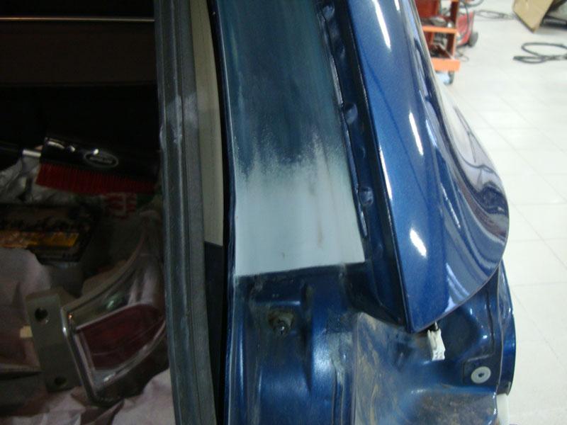 Ремонт и локальная покраска крыла и двери Мицубиси (Mitsubishi)