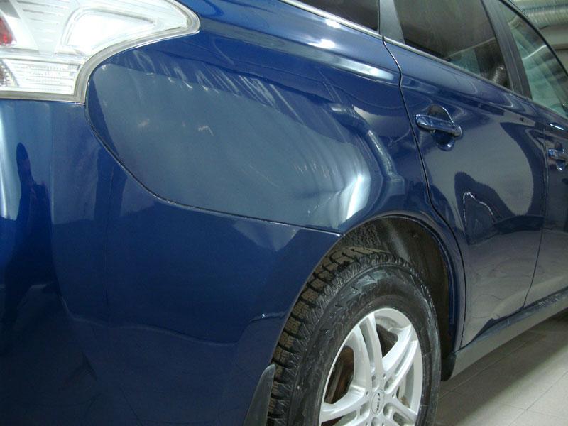 Ремонт и локальная покраска крыла и двери Мицубиси (Mitsubishi) фото 1