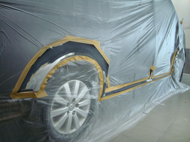 подготовка авто к покраске