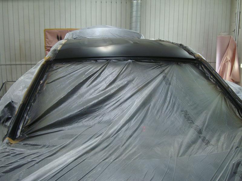 подготовка крыши хендай к покраске