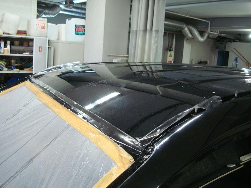 процесс покраски крыши хендай