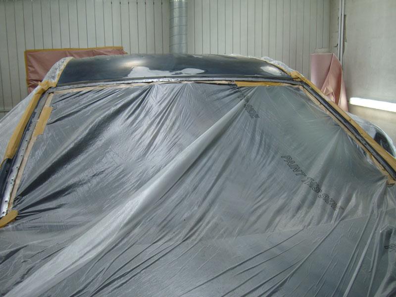 подготовка крыши покраске