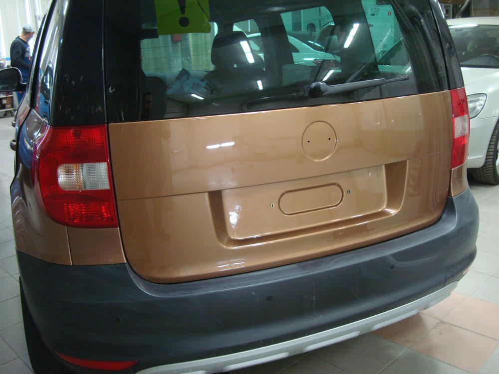 Борьба с ржавчиной на автомобиле Шкода Ети (Skoda Yeti)