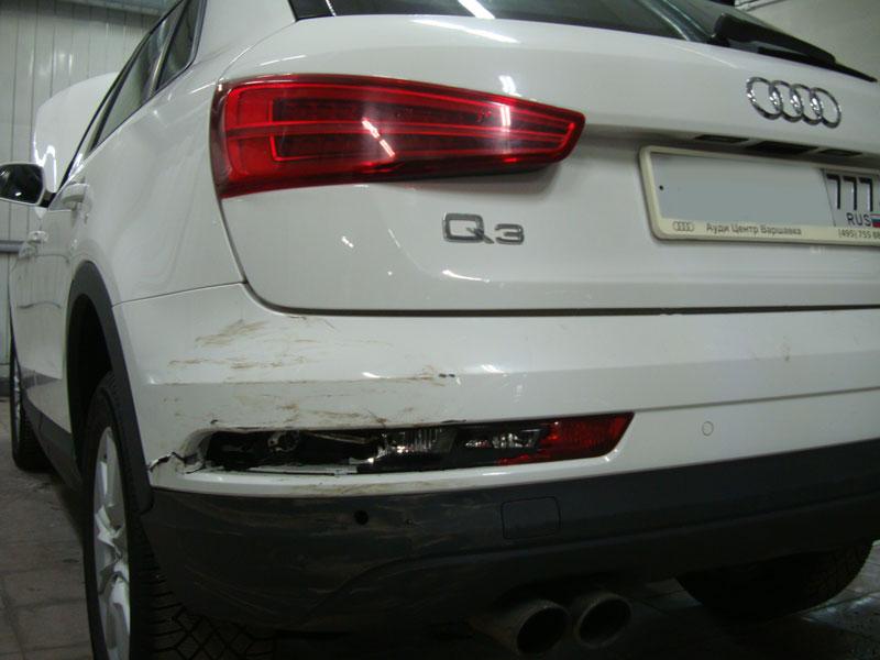 Ремонт кузова автомобиля Ауди Ку3 (Audi Q3) фото 1